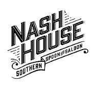 This is the restaurant logo for NashHouse Southern Spoon & Saloon
