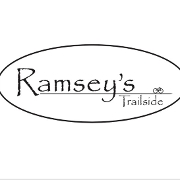 This is the restaurant logo for Ramsey's Trailside