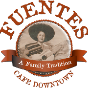 This is the restaurant logo for Fuentes Cafe Downtown