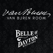 This is the restaurant logo for Van Buren Room