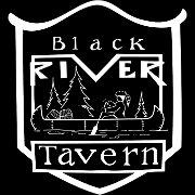 This is the restaurant logo for Black River Tavern