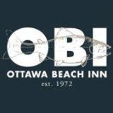 This is the restaurant logo for Ottawa Beach Inn