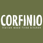 This is the restaurant logo for Corfinio