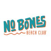 This is the restaurant logo for No Bones Beach Club