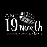 This is the restaurant logo for One 19 North