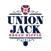 This is the restaurant logo for Union Jack Pub - Broad Ripple