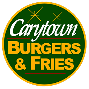 This is the restaurant logo for Carytown Burgers & Fries
