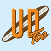 This is the restaurant logo for Underdogs Too