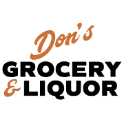 This is the restaurant logo for Don's Grocery & Liquor