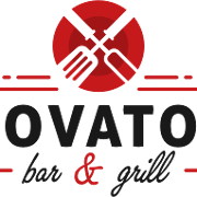 This is the restaurant logo for Novatos Bar and Grill