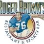 Restaurant logo for Roger Browns Restaurant and Sports Bar