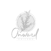 This is the restaurant logo for Onward Chicago