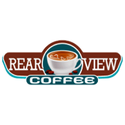 This is the restaurant logo for Rearview Coffee