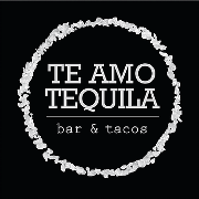 This is the restaurant logo for Te Amo Tequila Bar & Tacos