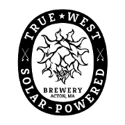 This is the restaurant logo for True West Brewery