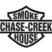 This is the restaurant logo for Chase Creek Smoke House