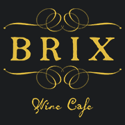 This is the restaurant logo for Brix Wine Cafe