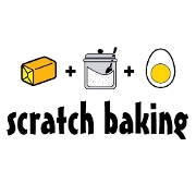 This is the restaurant logo for Scratch Baking