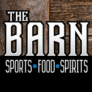 This is the restaurant logo for The Barn Fenton