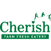 This is the restaurant logo for Cherish Farm Fresh Eatery