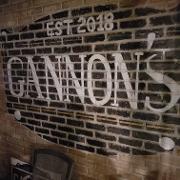 This is the restaurant logo for Gannon's Tavern