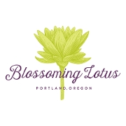 This is the restaurant logo for Blossoming Lotus Restaurant