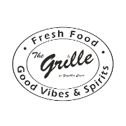 This is the restaurant logo for Franklin Court Grille