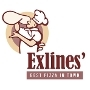 Restaurant logo for Exlines' Best Pizza in Town