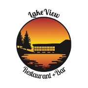 This is the restaurant logo for Lakeview Restaurant - Coventry