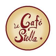 This is the restaurant logo for Cafe Stella