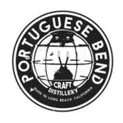 This is the restaurant logo for Portuguese Bend Distilling