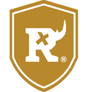 This is the restaurant logo for The Blind Rhino