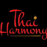 This is the restaurant logo for Thai Harmony