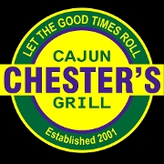 This is the restaurant logo for Chester's Cajun Grill