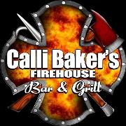 This is the restaurant logo for Calli Baker's Firehouse Bar & Grill