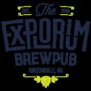 This is the restaurant logo for The Explorium Brewpub