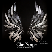This is the restaurant logo for ChefScape