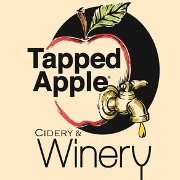 This is the restaurant logo for Tapped Apple Cidery & Winery