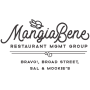This is the restaurant logo for Mangia Bene