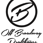 This is the restaurant logo for Off Broadway Drafthouse
