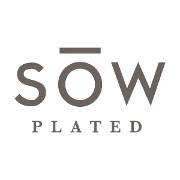 This is the restaurant logo for SOW Plated
