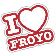 This is the restaurant logo for Froyo Life
