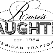 This is the restaurant logo for Rose's Daughter