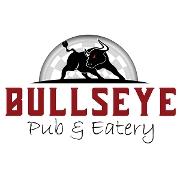 This is the restaurant logo for Bullseye Pub & Eatery