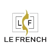 This is the restaurant logo for Le French Bakery & Cafe