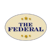 This is the restaurant logo for The Federal