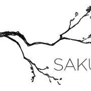 This is the restaurant logo for Saku Hoboken