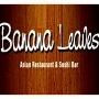This is the restaurant logo for Banana Leaves