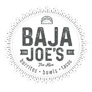 This is the restaurant logo for Baja Joe's Tex-Mex Bistro