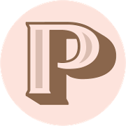 This is the restaurant logo for The Pink Door